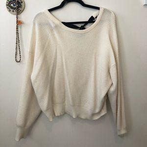 Zara Cream Sweater